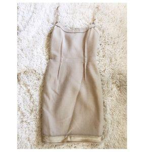 PRADA Vintage Cream Dress 44 (S)